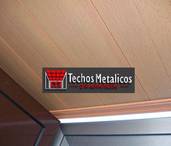 Techos de aluminio en Torremanzanas