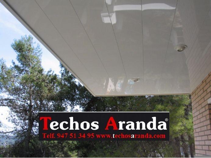 Techos de aluminio en Torres de Alcanadre