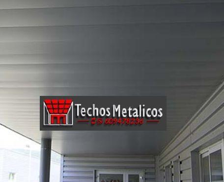 Techos de aluminio en Treviana