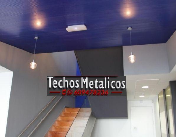 Techos de aluminio en Turre