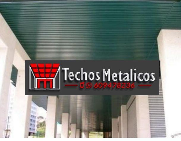 Techos de aluminio en Uleila del Campo