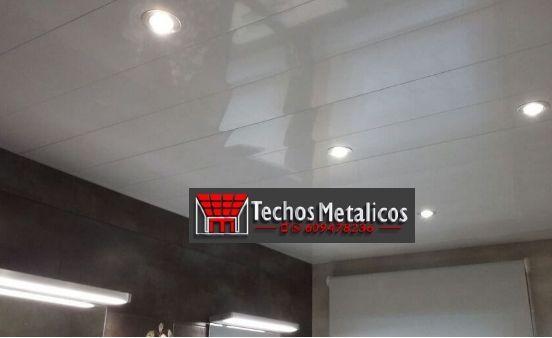 Techos de aluminio en Umbrías