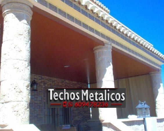 Techos de aluminio en Valdepeñas de Jaén