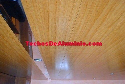 Techos de aluminio en Valdevimbre