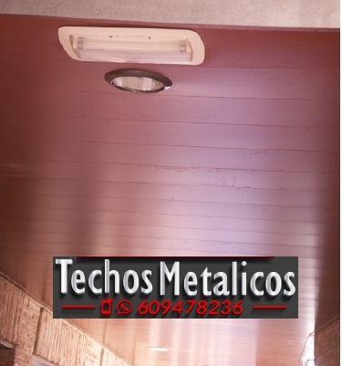 Techos de aluminio en Vall de Gallinera