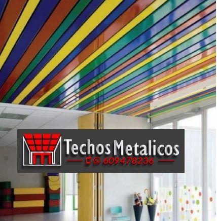 Techos de aluminio en Valverde