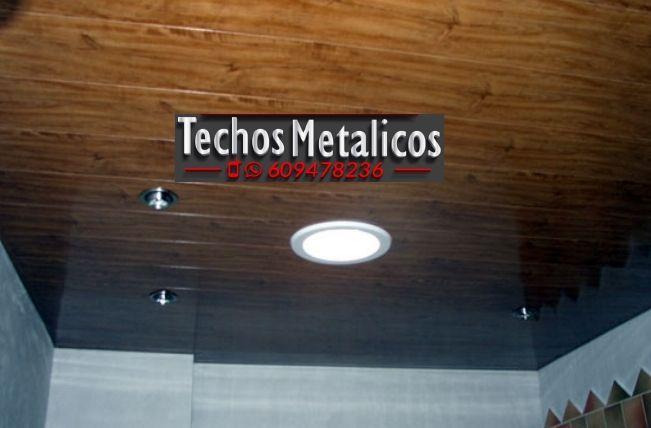 Techos de aluminio en Villamandos