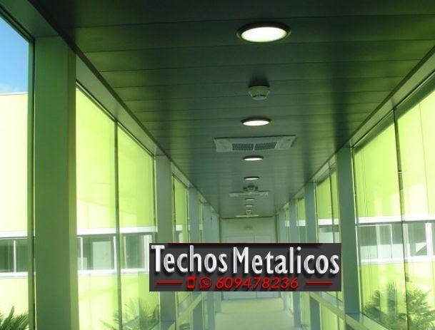Techos de aluminio en Villamanín