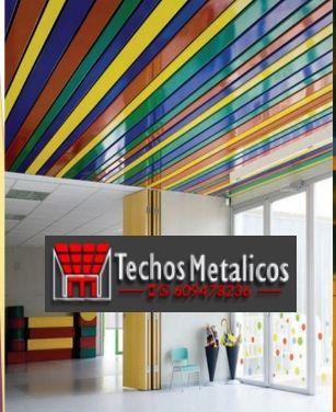 Techos de aluminio en Villamartín de Don Sancho