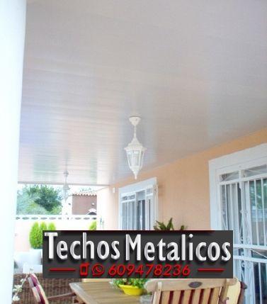 Techos de aluminio en Villapalacios