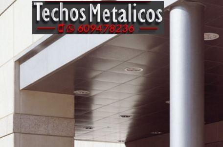 Techos de aluminio en Villatorres