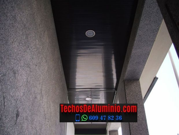 Techos de aluminio en Villatoya