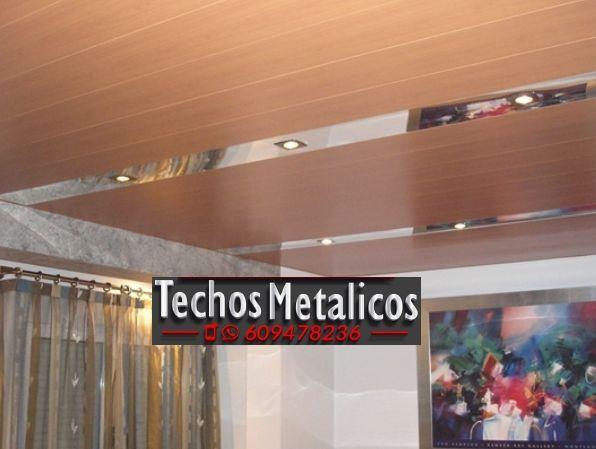 Techos de aluminio en Villaturiel
