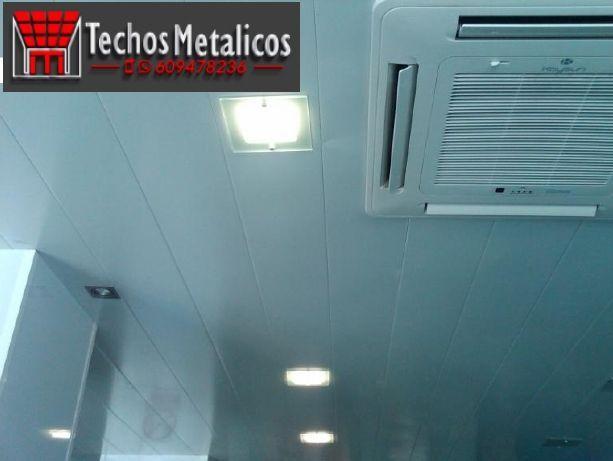Techos de aluminio en Xaló