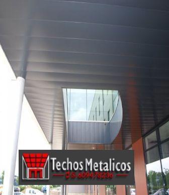 Techos de aluminio para regeneración de fachadas