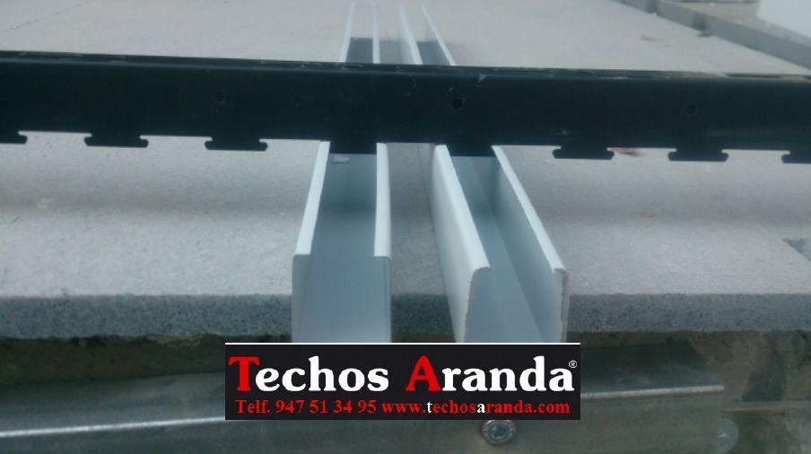 Techos de aluminio precios Alboraya