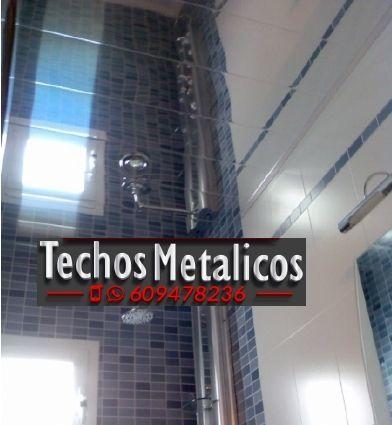 Techos de aluminio precios Ribaroja Del Turia