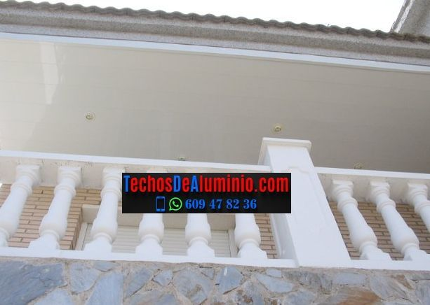 Venta de techos de aluminio para balcones