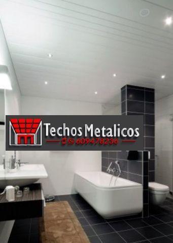Venta de techos de aluminio para baños