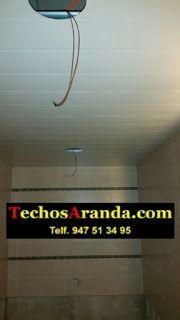 falsos techos en Tineo