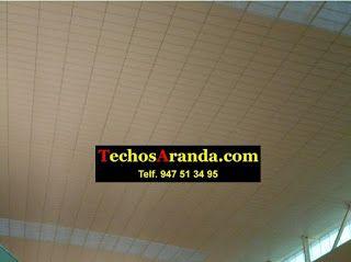 Falsos techos de aluminio en Gerona
