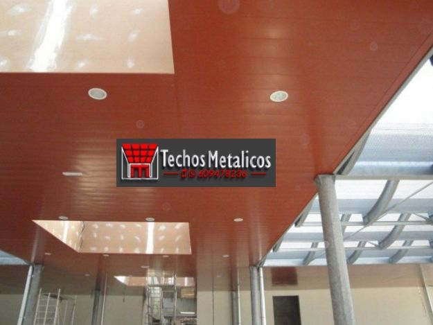 Techos de aluminio en Alcalá del Valle