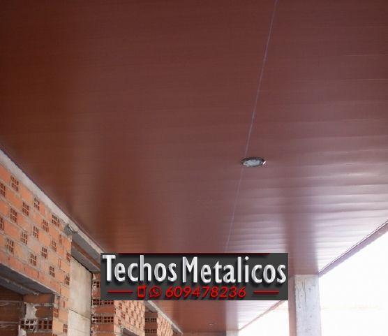 Techos de aluminio en Alcolea de Calatrava