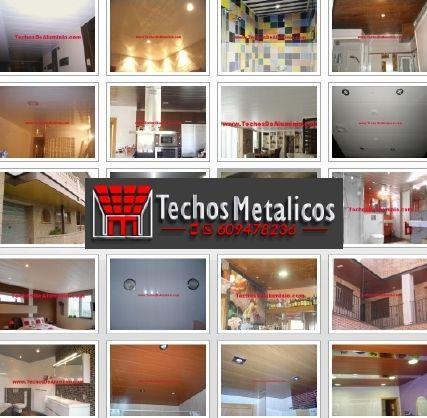Techos de aluminio en Alcudia de Veo