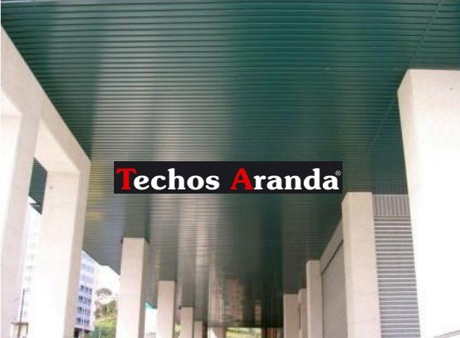 Techos de aluminio en Almenara