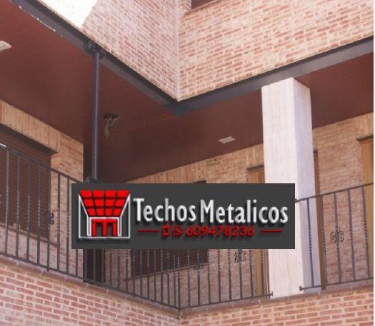 Techos de aluminio en Bascuñana de San Pedro