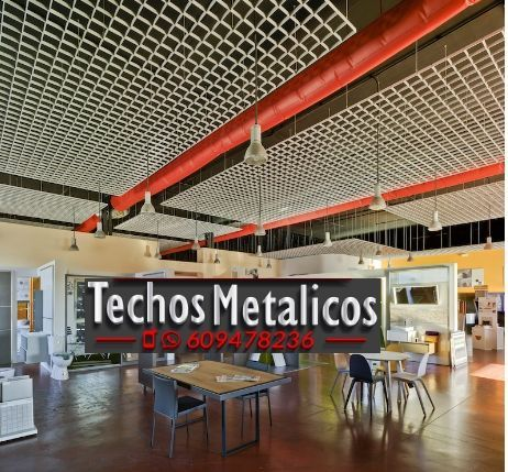 Techos de aluminio en Belinchón