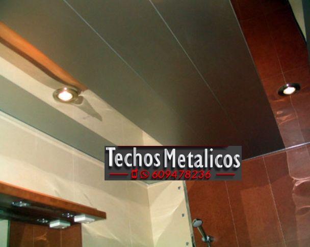 Techos de aluminio en Belmontejo