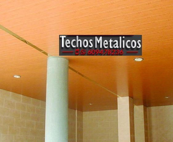 Techos de aluminio en Brión