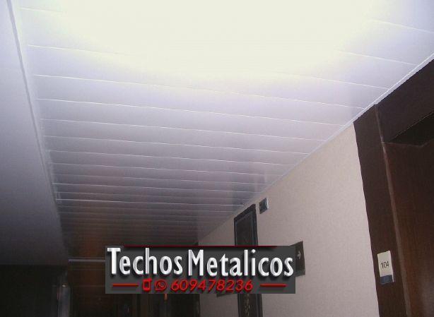 Techos de aluminio en Cardeña