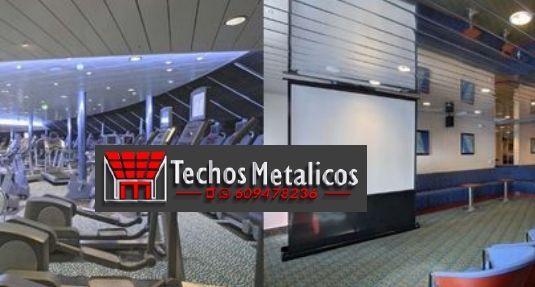 Techos de aluminio en Castejón