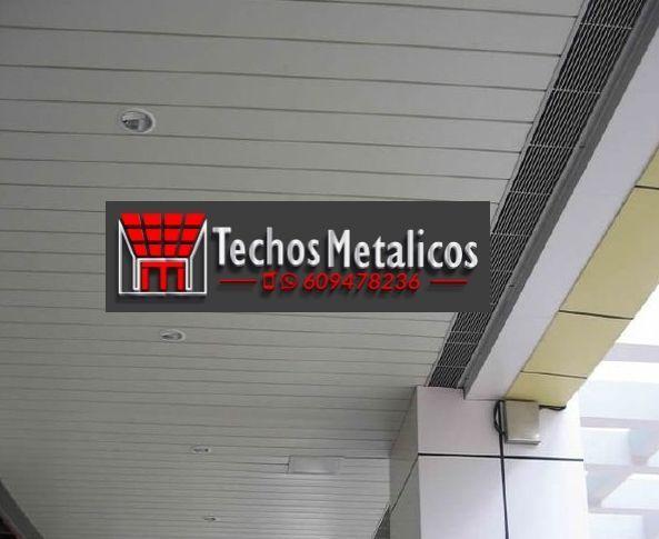 Techos de aluminio en El Guijo