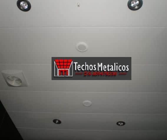 Techos de aluminio en Esparragalejo