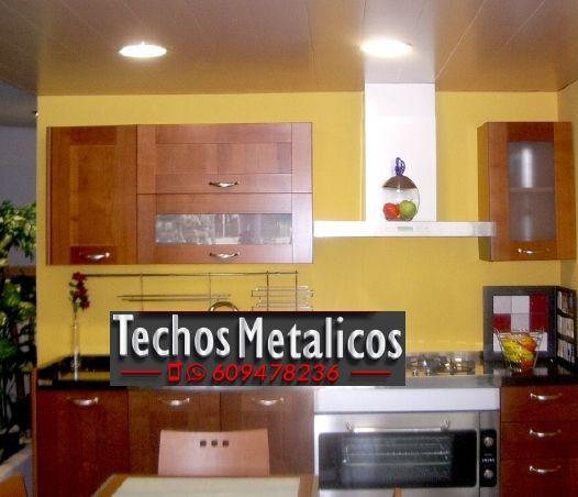 Techos de aluminio en Fuentes