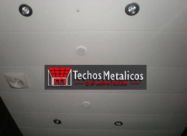 Techos de aluminio en Huélamo