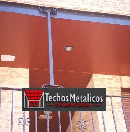 Techos de aluminio en Huerta del Marquesado