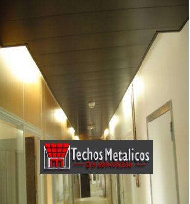 Techos de aluminio en Lagunaseca