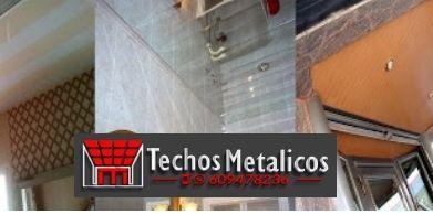 Techos de aluminio en Pedro Abad