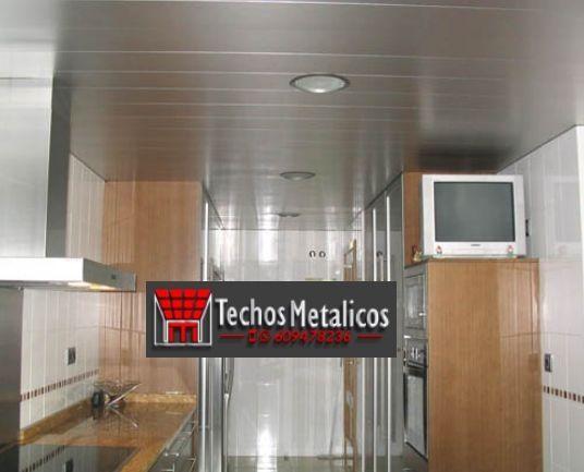 Techos de aluminio en Prado del Rey