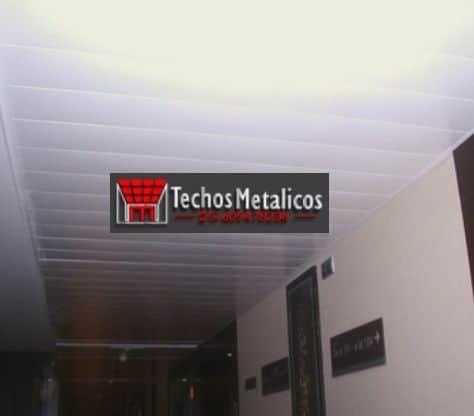 Techos de aluminio en San Miguel de Serrezuela