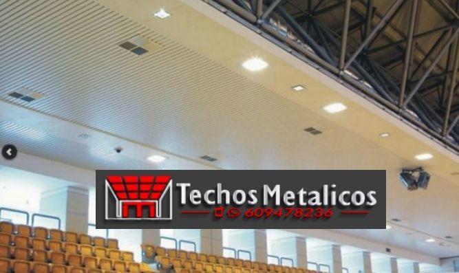 Techos de aluminio en San Pascual