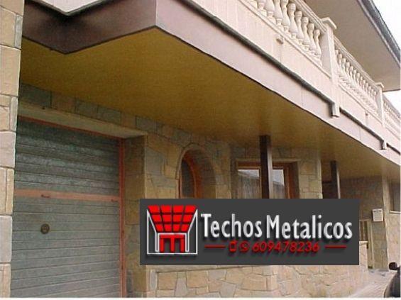 Techos de aluminio en San Pedro del Arroyo