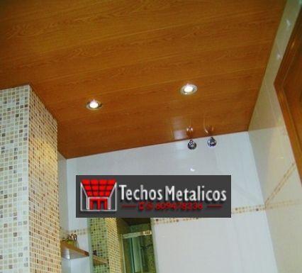 Techos de aluminio en Santa Cruz de Pinares