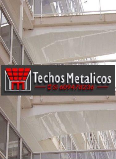 Techos de aluminio en Santa Eufemia