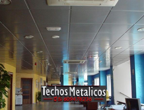 Techos de aluminio en Santa Magdalena de Pulpis