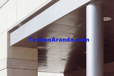 Techos de aluminio en Tordoia